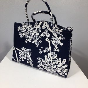 Vintage 1960's Margaret Smith Floral Handbag